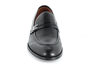 23693A-20A (GG) black leather loafer Grand Gudini мужские полуботинки