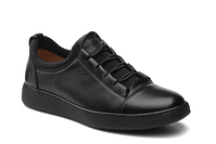 0669A-82A-S (37-39) (GG) black Grand Gudini кожаные кеды