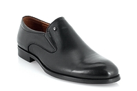 5303A-716A (GG) black leather shoes Grand Gudini мужские полуботинки