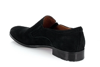 5268A-717A (GG) black suede shoes Grand Gudini мужские полуботинки